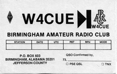 Welcome to the Birmingham Amateur Radio Club, Birmingham